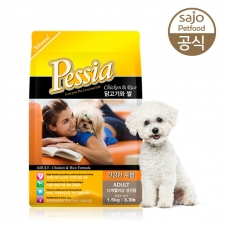 Pessia Adult Dog Food Chicken & Rice 3kg