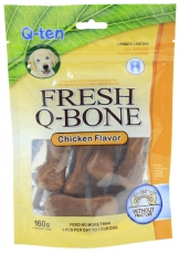 Orgo Chicken Flavor Fresh Q-bone 160gr