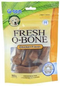 Orgo Chicken Flavor Fresh Q-bone 160gr