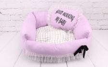 Kasur + Bantal Tidur Anjing Kucing Bobo BO-W18062S 55x45x18cm