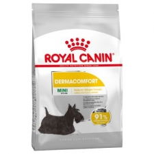 MAKANAN ANJING SENSITIF Royal Canin Mini Dermacomfort 3 kg