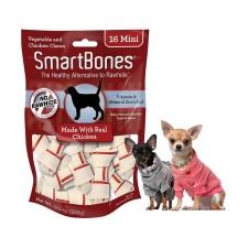 Snack Anjing Smart bones Chicken 16 mini