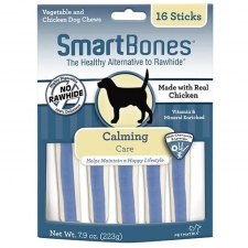 Snack Anjing Smart Bones Calming 16 Stick