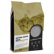 Pasir Kucing Volk Pets Ultra Odor Seal Coffe Latte Scent 10L
