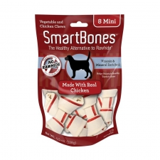 Snack Anjing Smart Bones Chicken 8 mini
