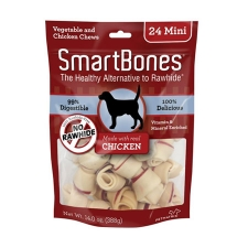 Snack Anjing Smart Bones Chicken 24 mini