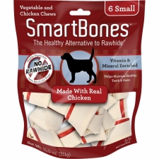 Snack Anjing Smart Bones Chicken 6 Small