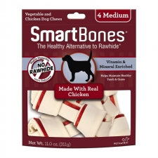 Snack Anjing Smart Bones Chicken 4 Medium