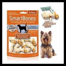 Snack Anjing Smart Bones Sweet Potato 8 mini