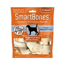 Snack Anjing Smart Bones Sweet Potato 6 Small