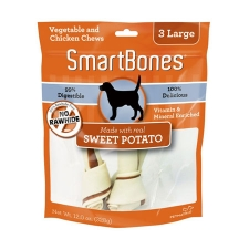 Snack Anjing Smart Bones Sweet Potato 3 Large