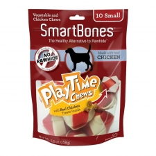 Snack Anjing Smart Bones Playtime Chicken 10 Small