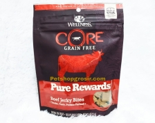 Wellness Core Dog Grain Free Pure Rewards Beef Jerky Bites 4oz