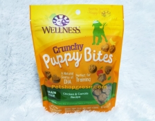 Wellness Grain Free Puppy Bites Chicken & Carrots Crunchy 6oz
