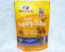 Wellness Grain Free Puppy Bites Lamb & Salmon Soft 3oz