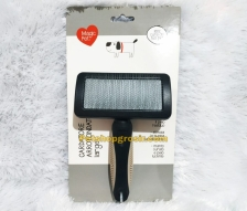 Sisir Pengangkat Bulu Mati Anjing & Kucing Magic Pet Slicker Brush Large
