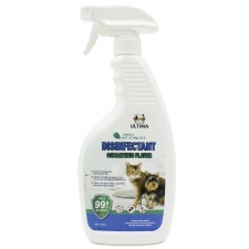 Desinfektant Gatal , Radang , Bakteri , Kuman Ultima Disinfectant Spray Dog & Cat Osmanthus Flavor 500ml