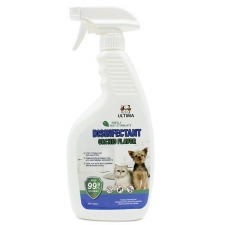 Desinfektant Gatal , Radang , Bakteri , Kuman Ultima Disinfectant Spray Dog & Cat Orchid Flavor 500ml