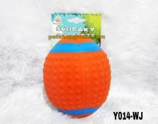 Mainan Hewan Latex Squeaky Toy 9cm