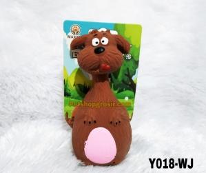 Mainan Hewan Latex Squeaky Toy 14cm