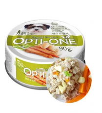 Makanan Basah / Kaleng Anjing Opti-One Dog Chicken & Carrot, Potato 90gr