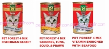 Pet Forest 4 Mix Can