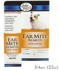 FOUR PAWS EAR MITE REMEDY FOR DOG
