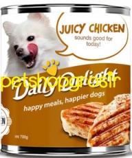 Makanan Basah / Kaleng Anjing Daily Delight Dog Juicy Chicken 375gr  (DD21)