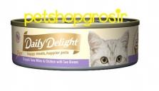 Makanan Basah Kucing Daily Delight Happt Meals Happiers Pure Sea Bream 80gr