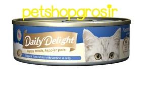 Makanan Basah Kucing Daily Delight Happy Meals Happiers Pets Sardine In Jelly 80g
