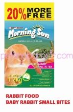 MORNING SUN BABY RABBIT FOOD