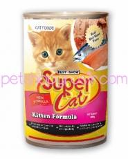 SUPER CAT  KITTEN FORMULA 400GR