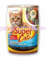 SUPER CAT SEAFOOD PLATTER SUPREME 400GR