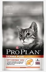 MAKANAN KUCING PURINA PRO PLAN CAT ADULT DERMAPLUS HAIR BALL 2.5 KG
