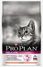 MAKANAN KUCING PURINA PRO PLAN CAT ADULT DELICATE (SENSITIVE DIGESTION) 2.5 KG
