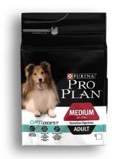 MAKANAN ANJING Purina Pro Plan Medium Dog Adult Sensitive Digestion 2,5kg