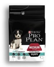 MAKANAN ANJING Pro Plan Medium Puppy Sensitive Digestion 12kg