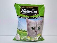 Pasir Kucing Hello Cat Sand Apple 10 Liter