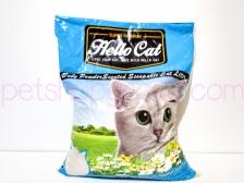 Pasir Kucing Hello Cat Sand Baby Powder 10 Liter