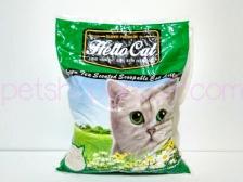 Pasir Kucing Hello Cat Sand Green Tea 10 Liter