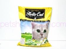 Pasir Kucing Hello Cat Sand Lemon 10 Liter