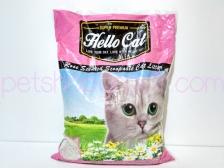 Pasir Kucing Hello Cat Sand Rose 10 Liter