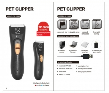 Pencukur Bulu Pet Clipper TP-3680