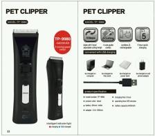 Pencukur Bulu Pet Clipper TP-9980