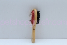 Sisir Best In Show Two Sided Timber Brush S