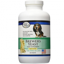 Vitamin Anjing Brewer Yeast Tablet with Garlic 1000 Tab