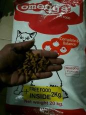 Makanan Kucing Kering Omegga Cat 22kg