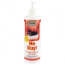 Repellent Kucing Pet Organics No Stay Cat 16oz 504516