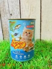 Super Cat Baby Kitten Tuna & Minced Chicken 400gr
