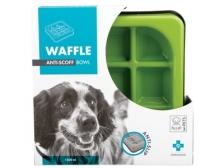 Mangkuk M-Pets Waffle Slow Feed Square Bowl 25x25x5.5cm 10504108